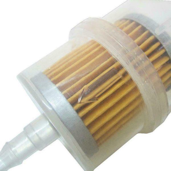 """5 2 600x600 - Inline Fuel Filter - Type 1 -<ul> <li>Size: 12.5 x 5.5 x 5.5cm/4.9 x 2.2 x 2.2inch</li> <li>Product Type: Petrol Filter</li> <li>Quantity: 1pcs</li> <li><strong>Features:</strong></li> <li>Easy to install.</li> <li>Suitable for 6mm (1/4"""") 8mm (5/16"""") hose use.</li> <li>Suitable for general Gasoline 0r Diesel</li></ul> - generator-parts-and-accessories - 5 2 600x600"""
