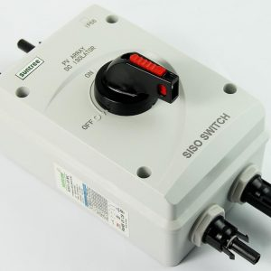 SISO With MC4 1  300x300 - 32A SISO Solar Electrical DC Isolator Switch -32A DC Disconnect - dc-accessories, combiners-and-disconnects - SISO With MC4 1  300x300