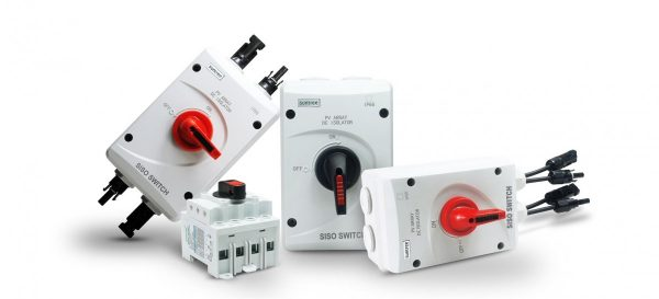 SISO With MC4 2 600x273 - 32A SISO Solar Electrical DC Isolator Switch -32A DC Disconnect - dc-accessories, combiners-and-disconnects - SISO With MC4 2 600x273