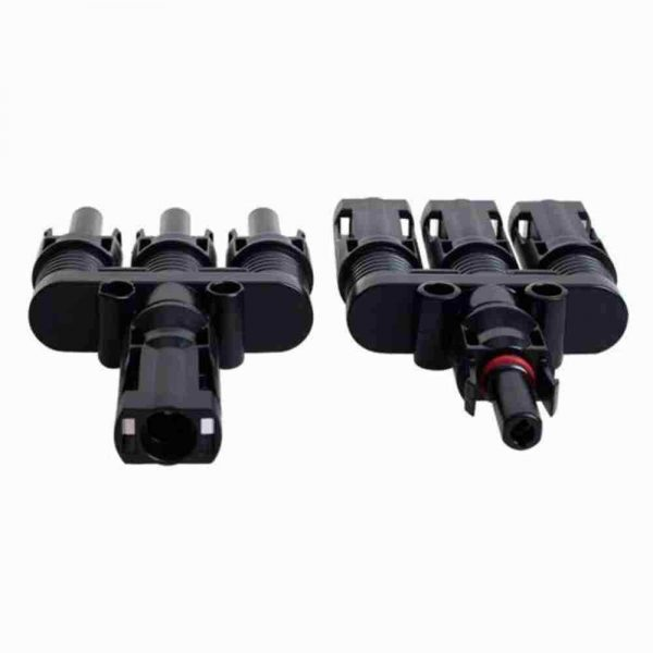 3 600x600 - MC4 Triple Branch 1 to 3 way Solar Panel PV Cable Connector Pair - - con-ele, connectors - 3 600x600