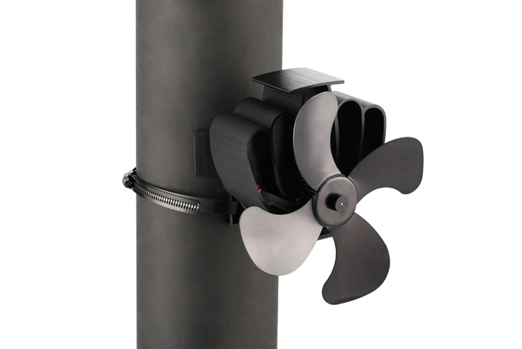 Pipe Mounted 4 Blade Eco Fan