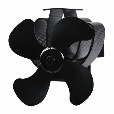 DHL Stromloser Kamin Ventilator fur Holzofen 4 Flugel  1 - Pipe Mounted 4 Blade Eco Fan -3 Bladed Peltier fan150 CFM - wood-heat - DHL Stromloser Kamin Ventilator fur Holzofen 4 Flugel  1