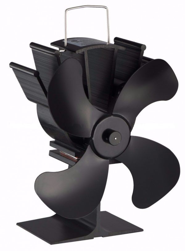 Honglang Best Selling Style Fireplace Heat Powered Stove Fan HL 800C1  600x814 - Four Blade Stove Top Eco Fan -2 Bladed Peltier fan150 CFM - wood-heat - Honglang Best Selling Style Fireplace Heat Powered Stove Fan HL 800C1  600x814
