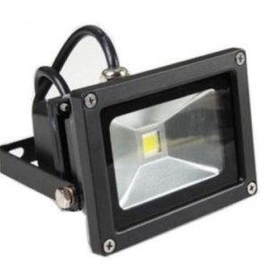 10w cw black case 300x300 - 10 Watt DC LED Flood Light - - sign-led, dc-flood-lights - 10w cw black case 300x300