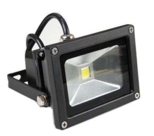 10w-cw-black-case 10 Watt DC LED Flood Light