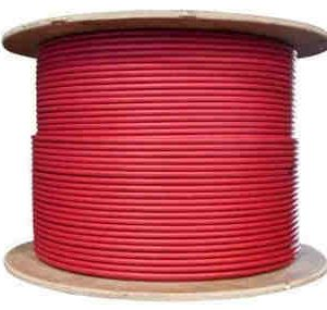 solar pv wire red 10 awg spool 300x285 - 10 AWG Solar UV Stable Single Conductor Cable - Red - Full Roll 1000' (305M) - - wire-and-cable-solar-products, wire-and-cable - solar pv wire red 10 awg spool 300x285
