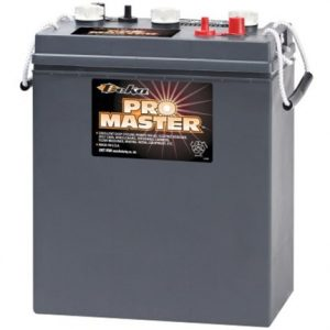 "8L16 300x300 - DEKA 8L16 6V 228aH Flooded Battery -<strong class=""main-menu-selected-td"">Specifications:</strong> <ul class=""a-unordered-list a-vertical a-spacing-mini""> <li><span class=""a-list-item"">Heavy-duty 6V Deep-cycle flooded lead-acid storage battery for long life.</span></li> <li><span class=""a-list-item"">6-volt 370 Amp Hours @ 20 Hour Rate - 420 Amp Hours @ 100 Hour Rate.</span></li> <li><span class=""a-list-item"">Quality Made in USA by East Penn Manufacturing.</span></li> </ul> - batt-fla - 8L16 300x300"