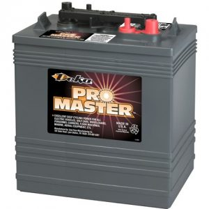 GC45 DEK 300x300 - DEKA GC45 6V 255aH Flooded Battery -<strong>Deka Part Number: GC45 </strong>Voltage: 6V 20hr AH Rating: 255 - batt-fla - GC45 DEK 300x300