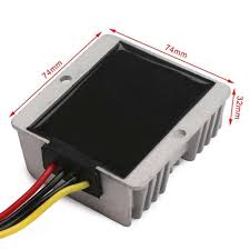 Dim - DC Power Buck (36V-48V input to 12V DC Adapter) -Converts 24V DC to 12V DC at 20 Amps. - dc-accessories - Dim