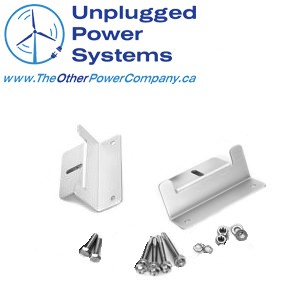 UPS 2 - Solar Panel RV 2 pc Mounting Kit - Aluminum -Aluminum mounting bracket kit complete with self tapping screws. - solar-mounting-equipment - UPS 2
